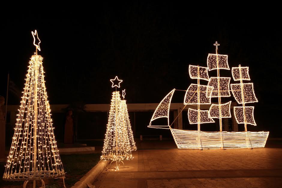 řecké vánoce