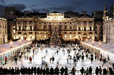 vánoce v Anglii