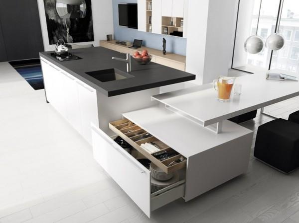 minimalistická kuchyň