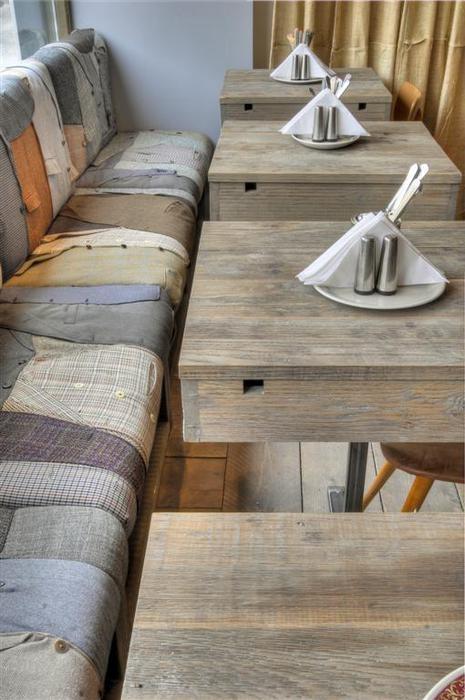 dřevěný materiál v bydlení