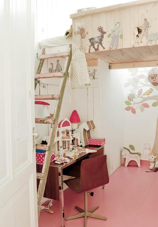 pokojík pro dívku