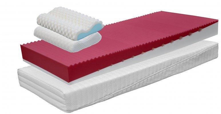kvalitní pěnová matrace