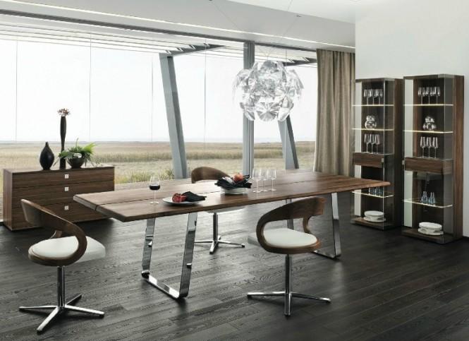 dřevo interiér
