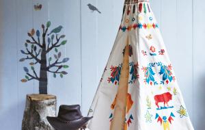 Nápadité interiérové stany pro děti