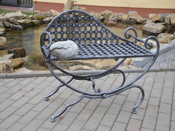 kovaná židle