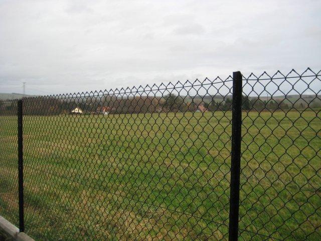 poplastované oplocení pozemku
