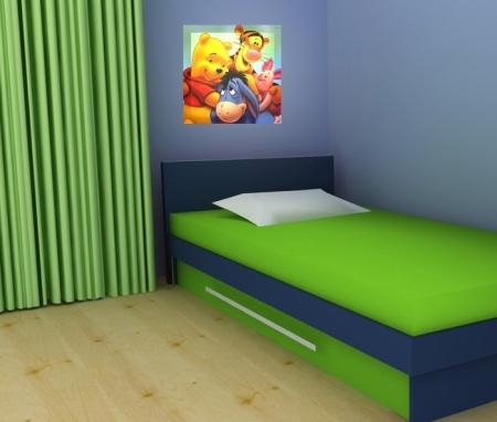 Dekorace dětského pokoje s pomocí LED obrazu