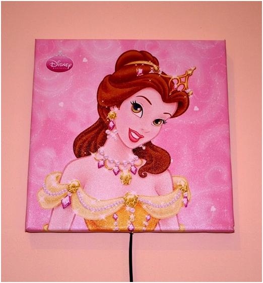 Obraz princezna Disney