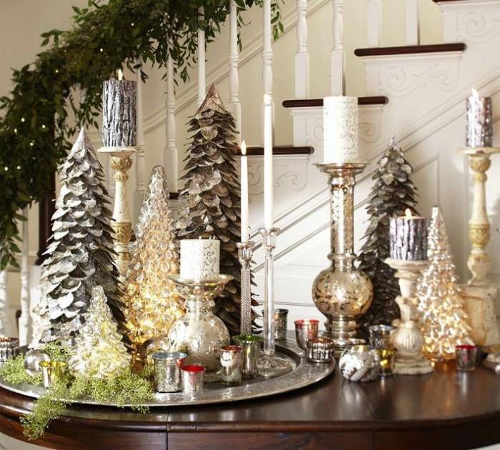 vánoční stůl