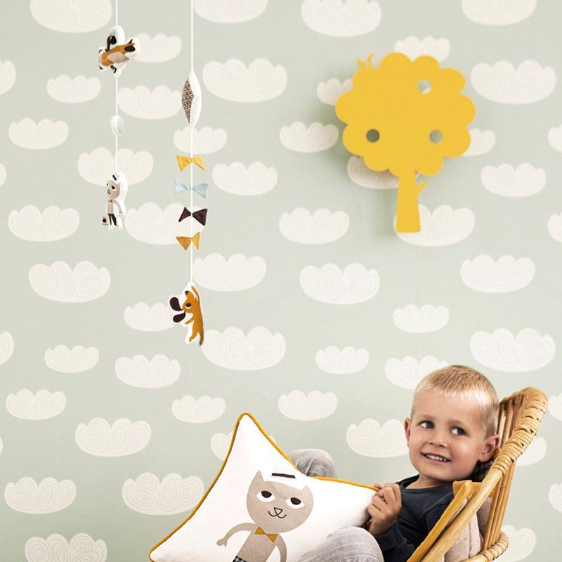 ferm living cloud wallpaper