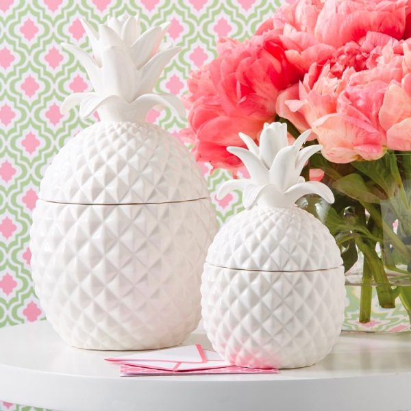 pineapple-white-textured-cookie-jars-for-sale-600x600